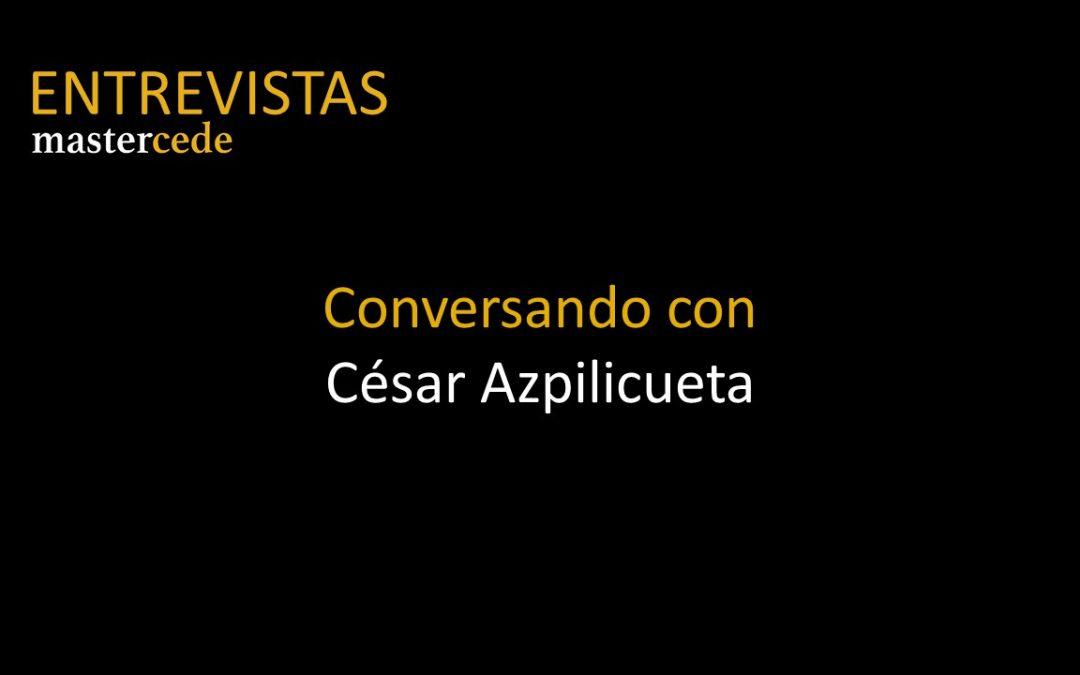 Conversando conCésar Azpilicueta