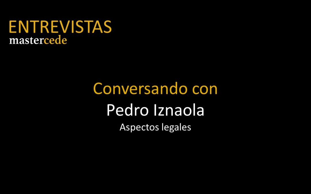 Conversando conPedro Iznaola I